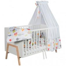 Кроватка-трансформер Schardt детская Holly
