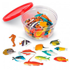 Learning Resources Игровой набор фигурок Рыбки (60 элементов)