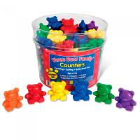 Learning Resources Игровой набор фигурок Семейка медведей (96 элементов)