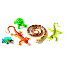 Learning Resources Набор фигурок Рептилии и амфибии (5 элементов)