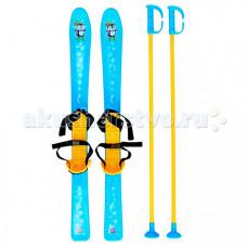Ледянка R-Toys Лыжи детские с палками и креплениями