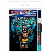 Lego Набор: книга для записей 96 листов, ручка, фонарик Movie 2 Batman