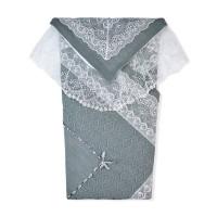 Лео Комплект на выписку (плед, пеленка-уголок) Ришелье