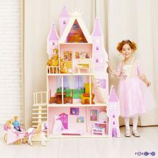 "Летний дворец Барби ""Розовый сапфир "" с 16 предметами мебели и текстилем"