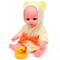 Lisa Jane Кукла-Пупс в жёлтом халатике с аксессуарами и звуками 30 см