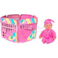 Loko Toys My Dolly Sucette Набор 37 см с игровой площадкой