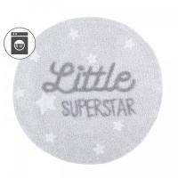 Lorena Canals Ковер с надписью Little Superstar 120D