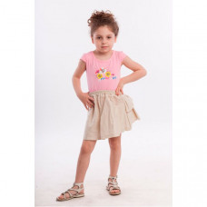 LP Collection Комплект для девочки (футболка и юбка) 23-1533