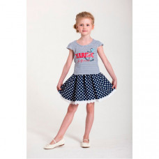 LP Collection Комплект для девочки (футболка и юбка) 23-1602