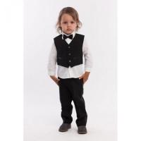 LP Collection Комплект для мальчика (рубашка, жилет, брюки, бабочка) 28-1683