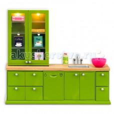 Lundby Мебель для домика Смоланд Кухонный набор с буфетом LB_60207700
