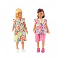 Lundby Набор кукол для домика две девочки