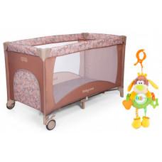 Манеж Baby Care Arena и подвесная игрушка Жирафики Веселый щенок