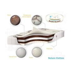 Матрас Babysleep премиум класса Solare Cotton 140х70