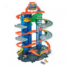 Mattel Hot Wheels Сити игровой набор Новый невообразимый Гараж