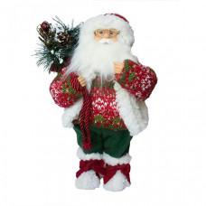 Maxitoys Дед Мороз в свитере и шапке 32 см
