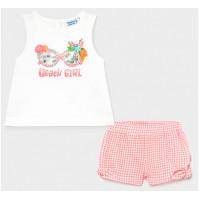 Mayoral Комплект для девочки (шорты, футболка) Beach Girl 1231