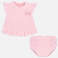 Mayoral Комплект для девочки (шорты и футболка) New Born 1255