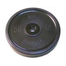MB Bardell Диск олимпийский d 51 мм 50 кг