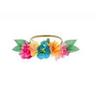 MeriMeri Короны для вечеринки Яркий цветок