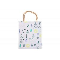MeriMeri Пакеты для подарков гостям Лес 8 шт.