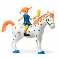 Micki Набор кукол для домика Пеппи и лошадь