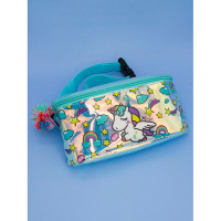 Mihi Mihi Поясная сумочка с помпоном Единорог