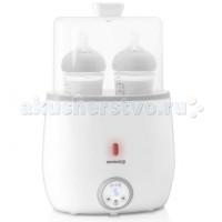 Miniland Подогреватель-стерилизатор для 2-х бутылочек Warmy Twin