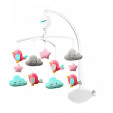 Мобиль BabyOno Универсальная карусель - Птички и Облачка
