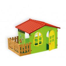 Mochtoys Игровой домик с забором