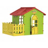 Mochtoys Игровой домик с забором 10839