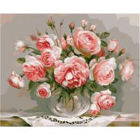 Molly Картина по номерам Розовый вечер 50х40 см