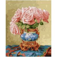 Molly Картина по номерам Восточные розы 50х40 см