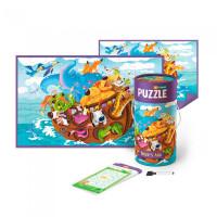 Mon Игровой набор Ноев Ковчег: пазл и карточки с заданиями