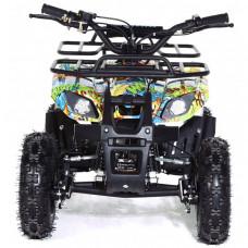 Motax Квадроцикл детский бензиновый ATV Mini Grizlik Х-16 Big Wheel с электростартером и пультом
