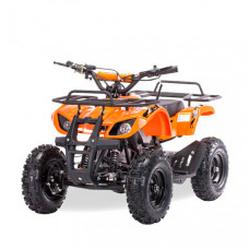 Motax Квадроцикл на бензине ATV Mini Grizlik Х-16 с механическим стартером большие колеса