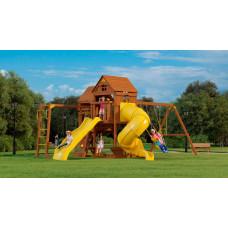 MoyDvor Детская площадка Панорама с трубой спуском и рукоходом