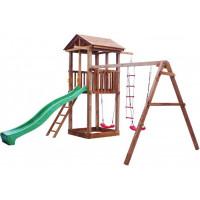 Можга (Красная Звезда) Детская площадка Спортивный городок 1 с качелями
