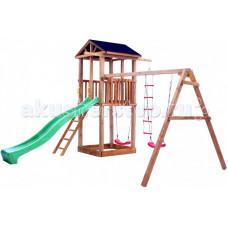 Можга (Красная Звезда) Детская площадка Спортивный городок 1 с качелями с тентом
