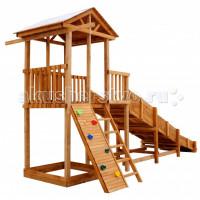 Можга (Красная Звезда) Детская площадка Спортивный городок 2 с горкой