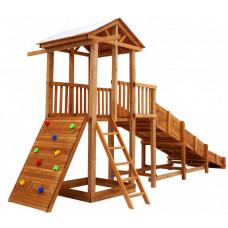 Можга (Красная Звезда) Детская площадка Спортивный городок 3 с горкой
