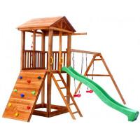 Можга (Красная Звезда) Детская площадка Спортивный городок 5 с качелями