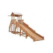 Можга (Красная Звезда) Детская площадка Спортивный городок c широкой лестницей