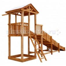 Можга (Красная Звезда) Детская площадка Спортивный городок с узкой лестницей