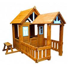 Можга (Красная Звезда) Детский домик Солнечный Р910-Р931