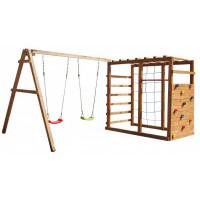 Можга (Красная Звезда) Детский игровой комплекс Р929 с качелями