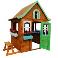 Можга (Красная Звезда) Домик Цветочный c кухней и цветочницами