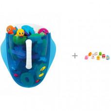 Munchkin Ковшик для игрушек в ванной с игрушками Ферма