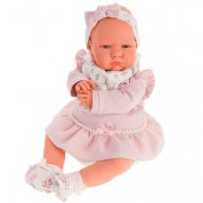 Munecas Antonio Juan Кукла Анна в розовом озвученная 52 см
