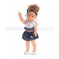 Munecas Antonio Juan Кукла Белла в синем платье 45 см 2809B
